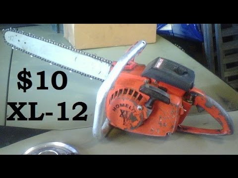 $10 Chainsaw Fixer-up, Homelite XL-12