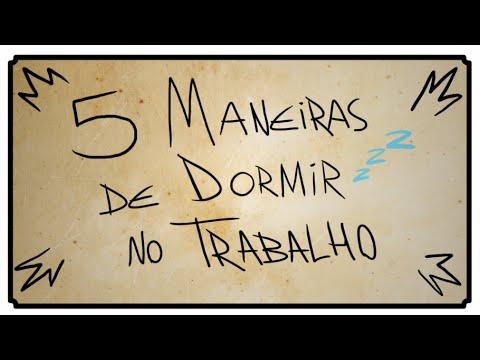 5 MANEIRAS DE DORMIR NO TRABALHO