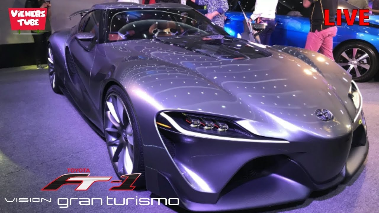 Toyota Ft-1 Price >> Toyota Ft 1 Concept Car In Bangladesh Toyota Ft 1 Car Video Dhaka Motor Show 2018 ঢ ক মটর শ