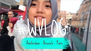 Video Amsterdam - Brussels - Paris! #WVLOG download MP3, 3GP, MP4, WEBM, AVI, FLV Desember 2017