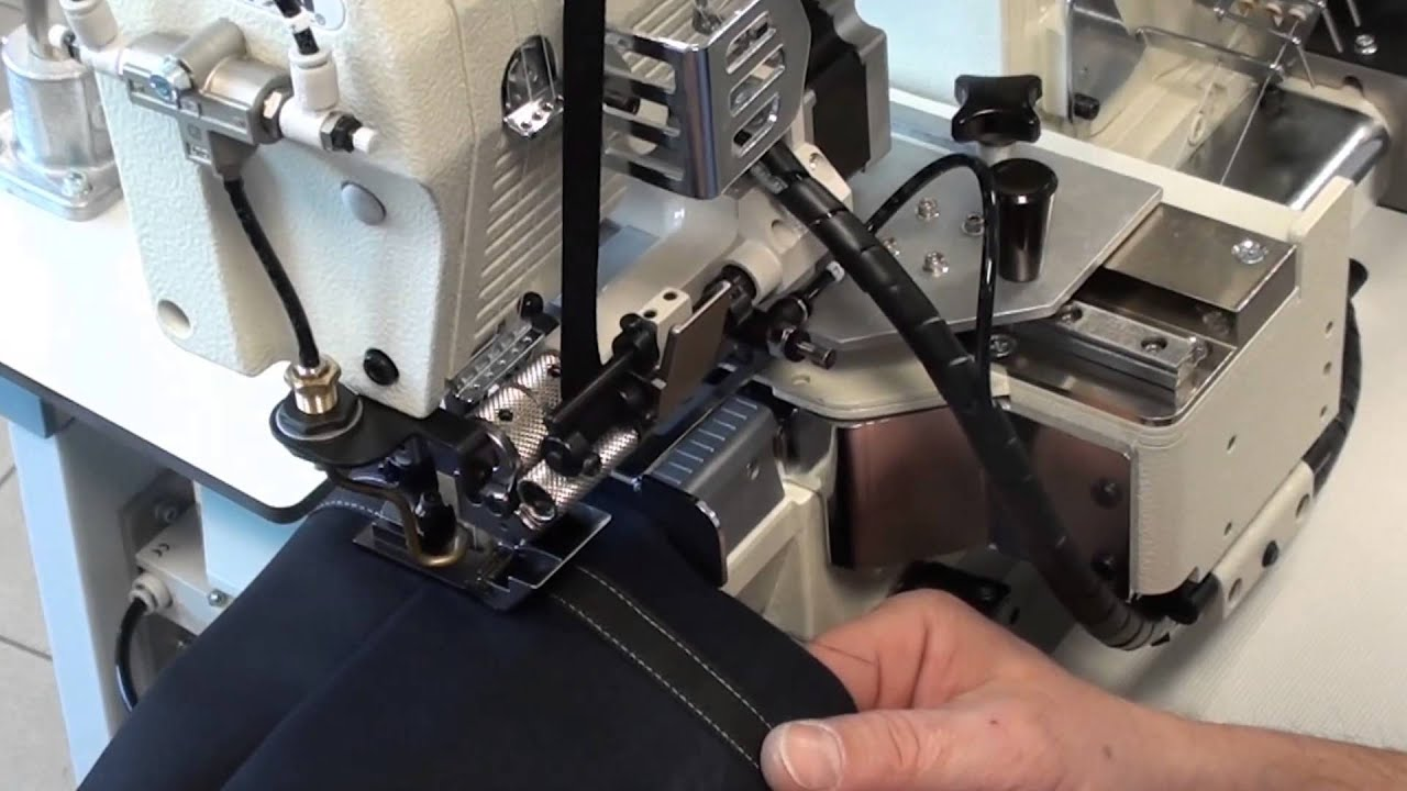 Automated Sewing Systems Ews 6200 Youtube