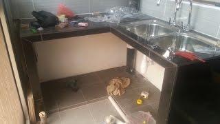 Buat Table Top Meja Dapur Di Perumahan Awam Sri Perak Sentul Kuala