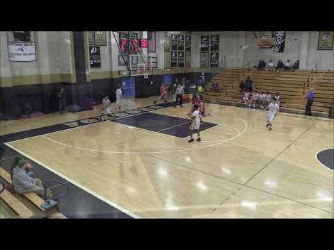 North Attleboro JV player dunks ball