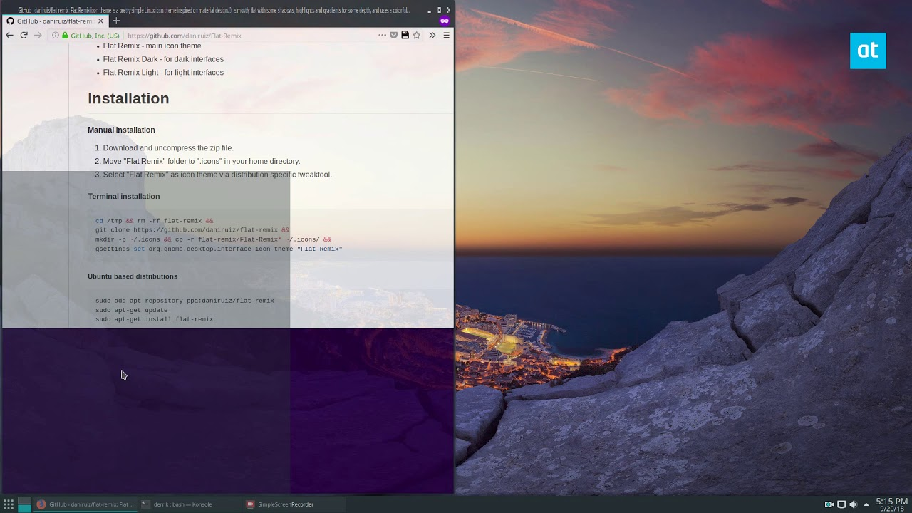How To Install The Flat Remix Icon Theme On Linux