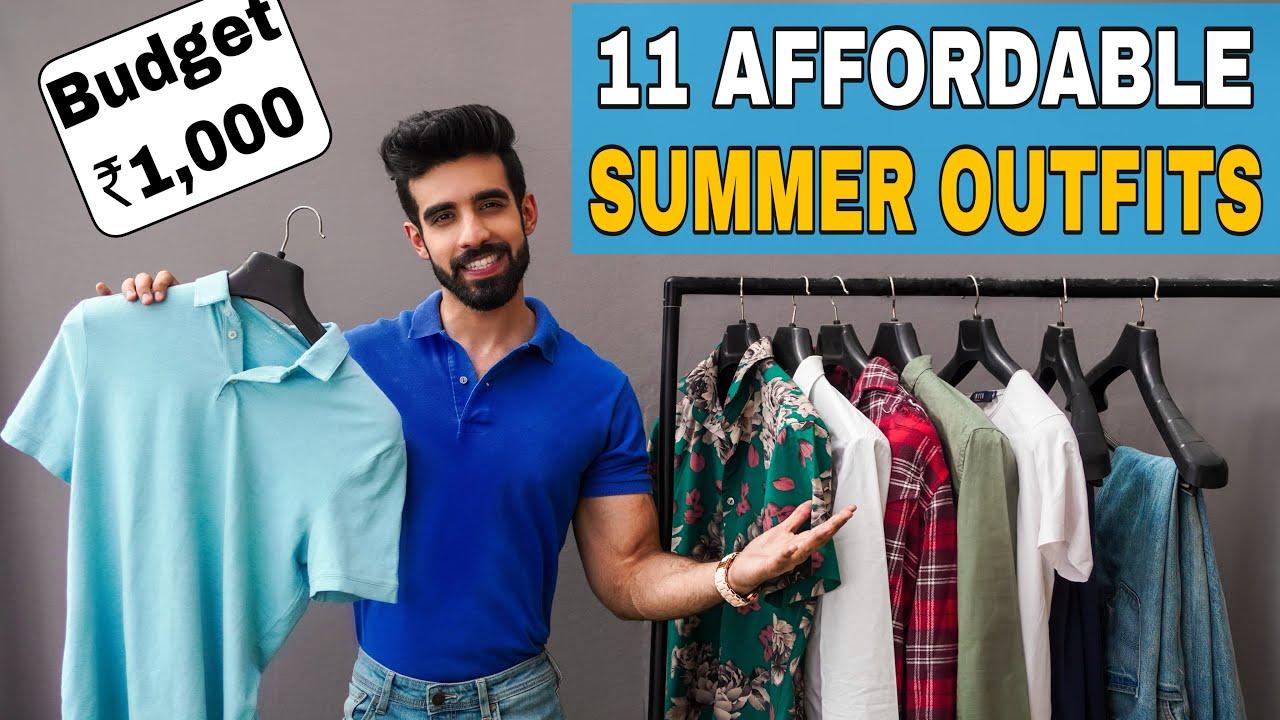 Download 11 AFFORDABLE SUMMER OUTFITS 2021 हिंदी FASHION  Indian men fashion College Fashion   Budget Fashion