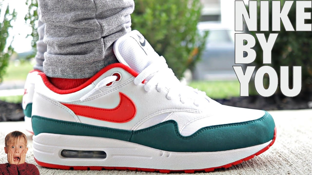 Decir Sui Camino  Nike By You Air Max 1 on FOOT