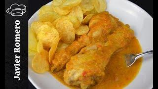 Receta de pollo en salsa muy fácil y nutritiva. Recetas para tupperware