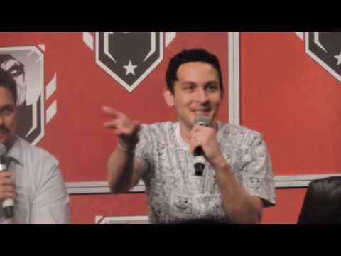 Robin Lord Taylor talking about Penguin's Walk