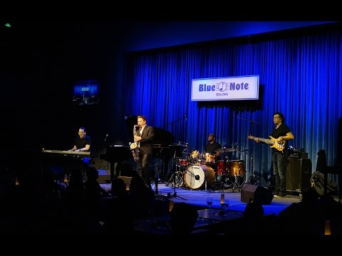 Blue Note Beijing China Jeff Lorber Fusion  Soul Party