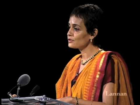 Arundhati Roy with Howard Zinn | 18 September 2002