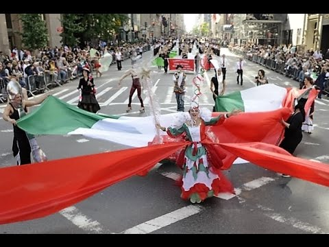 Columbus Day Celebrations 5th Avenue NYC 2016