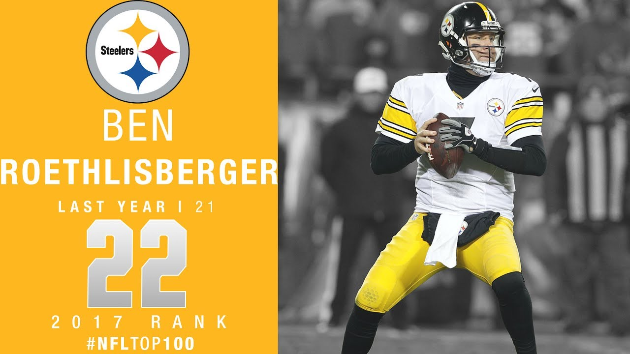 22 Ben Roethlisberger QB Steelers