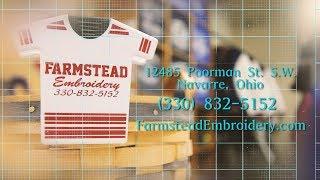Farmstead Embroidery 2017