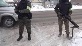 Спецоперация УФСБ, УФСВНГ и МВД РД в Хасавюрте, 29.01.2017 г.