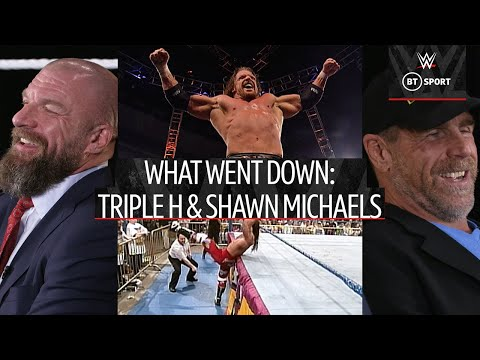Triple H And Shawn Michaels Candidly Re-live Their Greatest Royal Rumble Moments   What Went Down