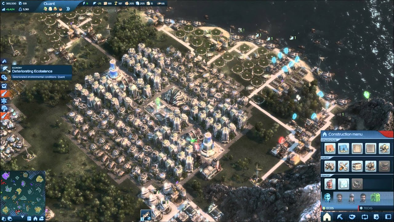 Anno 2070 - Power Games - Tips and Tricks - YouTube