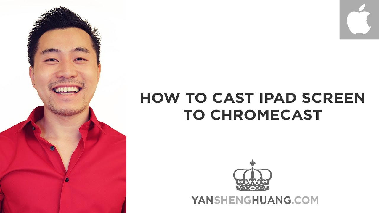 how to connect ipad to chromecast