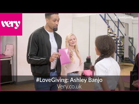 #LoveGiving: Ashley Banjo Surprises Dance Student Daria With Very.co.uk