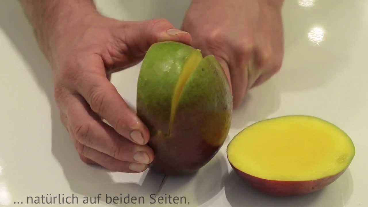Mango Richtig Schneiden