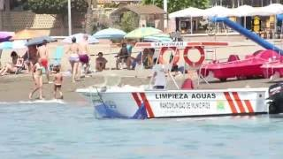 ¿Cómo se limpian las playas de Rincón de la Victoria cada verano?
