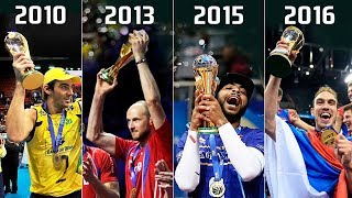 Volleyball World League | Winners 2003 - 2017