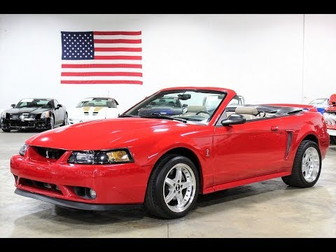 1999 Ford Mustang Svt Cobra Convertible Youtube