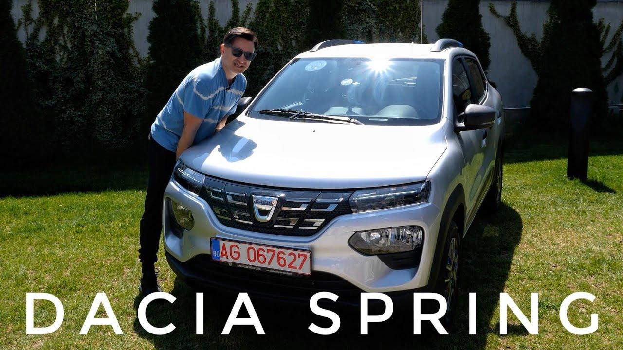 """""""Lăstunul Electric"""" - Drive Test cu Dacia Spring"""