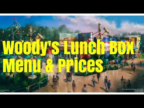 Woody's Lunch Box Menu Prices & Food Pics - Toy Story Land at Disney's Hollywood Studios