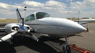 Twin Cessna 310 to No Man