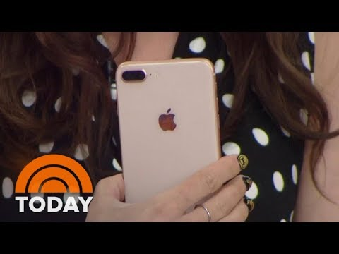 First Look At The New iPhone 8 And 8 Plus | TODAY