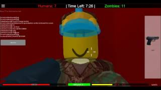 Roblox Humans Vs Zombies Episode 2:Still trying to survive!!!