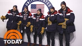 See Team USA Get Suited Up In Their Official Olympic Outfits | TODAY