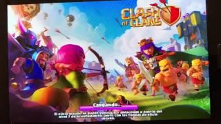 Primer dia jugando con vosotros al clash of clans