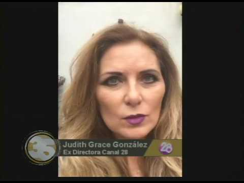 Judith Grace 35 Aniversario Canal 28 Youtube
