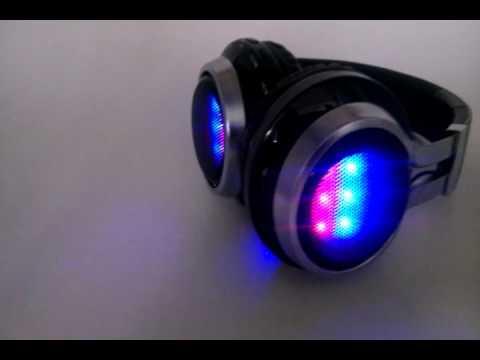 LED Flashing Bluetooth Headphone