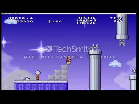 Mario Forever Arctic Land Part 1