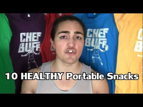 Top 10 Easy Healthy Portable Snacks