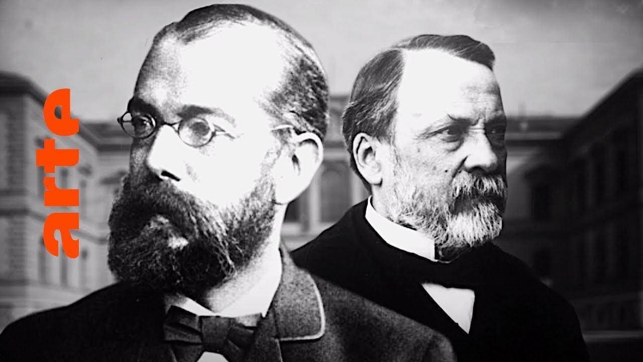 Download Pasteur et Koch : un duel de géants dans le monde des microbes