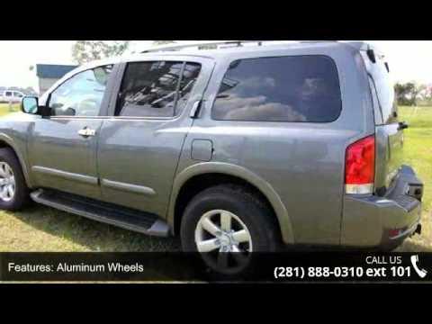 2014 Nissan Armada Sv Baytown Nissan Baytown Tx 77521