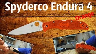 обзор ножа Spyderco Endura 4 VG10