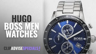 10 Best Selling Hugo Boss Men Watches [2018 ]: Hugo Boss Men