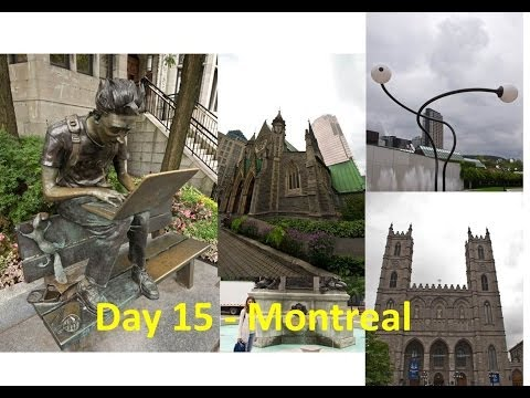 Old Town & Montreal University - Montreal (2) - North America Road Trip Vlog || PartTimeWanderlust