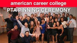 ACC-Orange County PTA Pinning Ceremony: October 2018