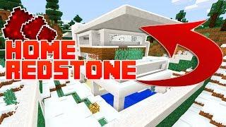 Minecraft Pocket Edition | EPIC REDSTONE HOUSE!! [Windows 10/PE]