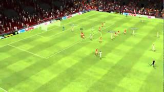 Arsenal vs Olympique Lyonnais - Toulalan Goal 44th minute