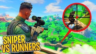 *NEU* SNIPER vs SPIELER Modus in FORTNITE!