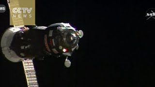 Russian spacecraft Progress cargo ship docks with space station