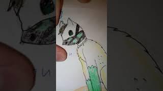 Рисунки Котов - Воителей. Реферансы персонажей