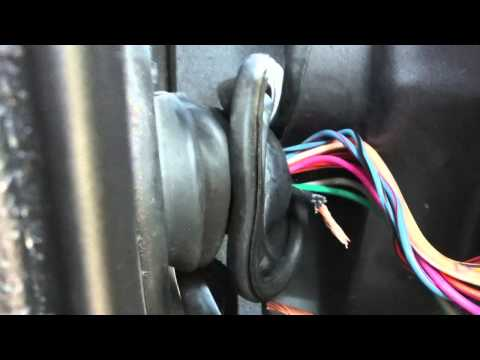 Jeep door wire repair