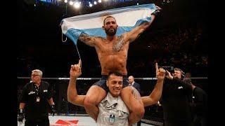 UFC Argentina: Entrevista no octógono com Santiago Ponzinibbio